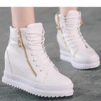 Giày boot nữ cổ cao cá tính B042T