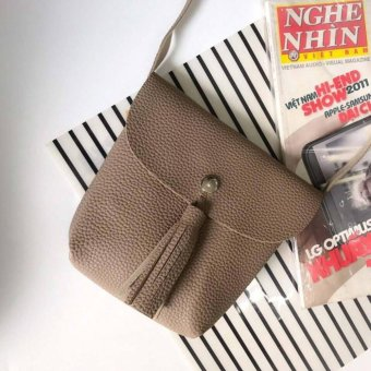 Túi đeo vai nữ - cúc bấm