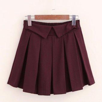Chân váy ngắn nữ dáng xoè xếp li LTTA143