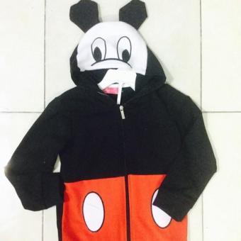 Áo khoác mickey có nón bé trai-gái: