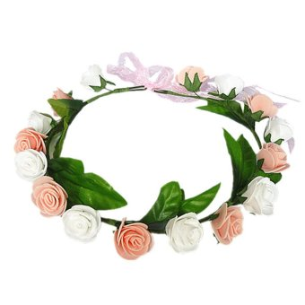 New Bride Headdress Lower Heads Wreath Ring Children