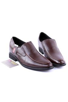 Giày tăng chiều cao nam da thật Da Giày Việt Nam VNLZ0L0ZL0N (Nâu)
