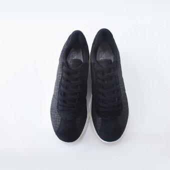 Giày sneaker MUST Korea phong cách thể thao nữ (Đen)
