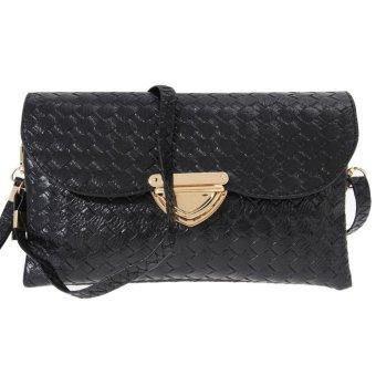 2016 new women compile wallet lady credit card holder purse(black) - INTL