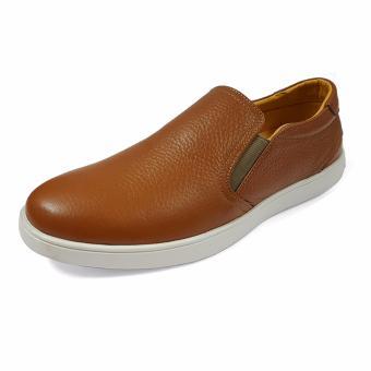 Giày Slip On Da Mờ Nam Ensado DT14 (Vàng)
