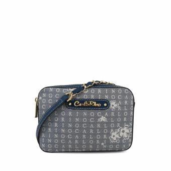Túi đeo chéo CR Signature Carlo Rino 0303238-001-13 (xanh dương)