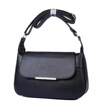 Túi xách da thật chính hãng AIBKHK AIB031 (Đen) - 2774535