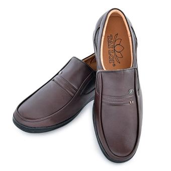 Giày tây da bò thật TÀI LỢI TL-419 (Nâu)