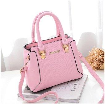 Túi xách Danbaoly hồng nhạt