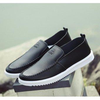 Giày nam slip on chữ nổi FranceSM054