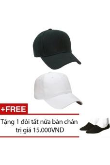 Bộ 2 Mũ Nón Lưỡi Thai Thể Thao Nam Nữ