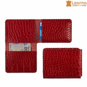 Ví đựng thẻ handmade VD58 - đỏ