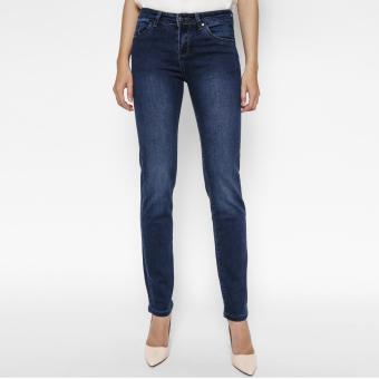 Quần Jeans Ống Đứng Cạp Vừa Midnight Cung Cấp Bởi AAA Jeans (Xanh)