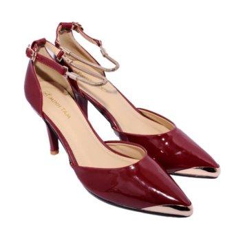 Giày Bít Mũi Cao Gót Minh Tâm MT724GN (Đỏ)
