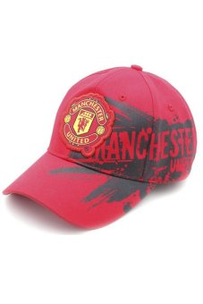 Nón tem Manchester United (Đỏ)
