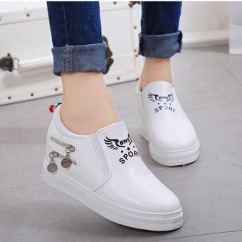 Giày Sneaker Thời Trang Nữ Tt012t (Trắng)