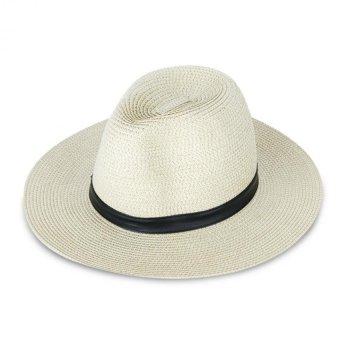 Nón Vành Panama Chất Liệu cói Julie Caps (Vàng)