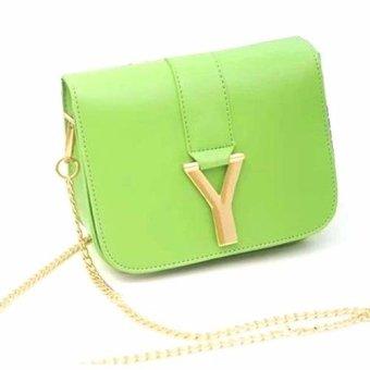 Túi xách chữ Y (Xanh)