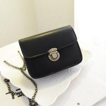 Lovely Girl Pu Leather Mini Small Adjustable Shoulder Bag Handbag New - intl