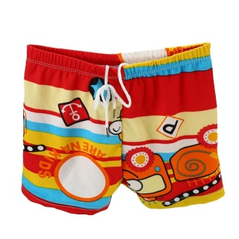 Fashion Holidays Children Boys Swimming Shorts Beachwear Swimwear Shorts- #1 - intl