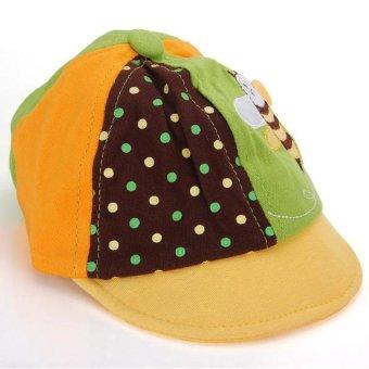 HKS Baseball Cap Peaked (Yellow) - intl