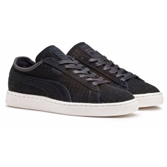Giày thể thao PUMA Suede Courtside Perf Black (Đen)