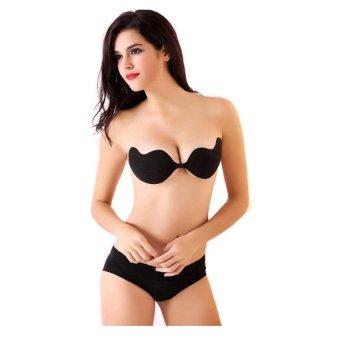 MPO Nội y - Áo dán ngực hình xoài Victoria's Secret (Đen)-Origiver