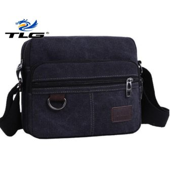 Túi canvas phối da phong cách Hàn Quốc TL8089 1( đen)