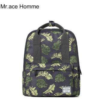 Balo Thời Trang Mr.ace Homme MR16B0324B01 / Đen phối hoa