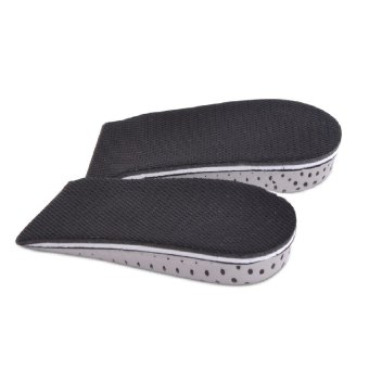 1 pair 2.3cm Insole Heel Lift Insert Shoe Pad Height Increase Cushion Elevator Taller