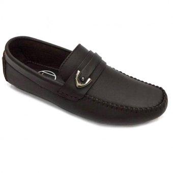 Giày lười da thật nam Everest (Nâu) C77