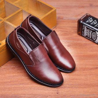 Giày da nam Rozalo RMG5171N-Nâu
