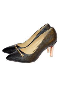 Giày cao gót LARA HMFd8001-RW (Đen)
