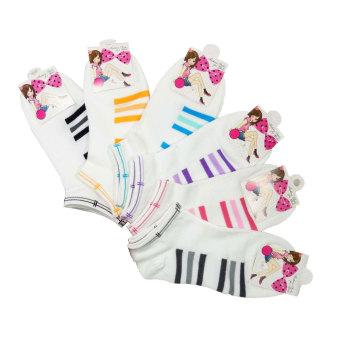 Bộ 10 tất vớ Nhật ngắn cổ nữ + Tặng 2 đôi tất nữ Nhật