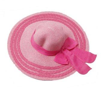 Mũ cói thời trang nữ (vành rộng đi biển Salome Fashion