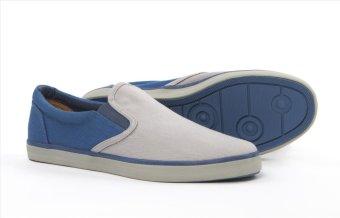 Giày nam thời trang ANANAS 20117 (Xám-xanh)