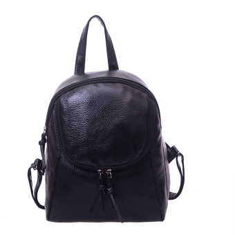 Women Fashion Leather Fringe Backpack - intl
