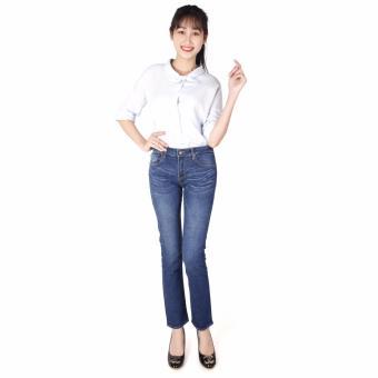 Quần Jeans Thun Cotton 25n Nữ Cotonfield