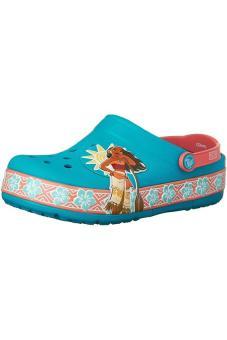 Xăng đan & Dép bé gái Crocs CrocsLights Disney Moana Clg K Mlt 203813-90H (Xanh dương)