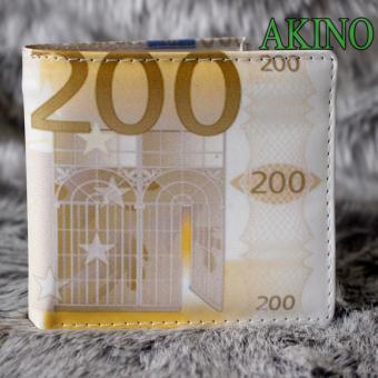 Ví nam in tiền 200 màu trắng VNHT01