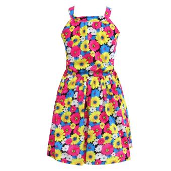 Girls Princess Dress (Floral)