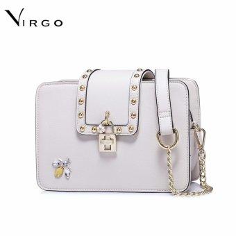 Túi đeo chéo nữ thời trang khóa hoa VG233