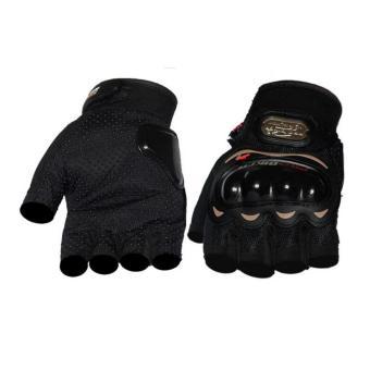 Găng tay cụt ngón Probiker - BT3(xám)