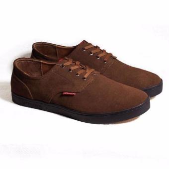 Sneakers cột dây Tathanium Footwear TFBRS3305 (Nâu)