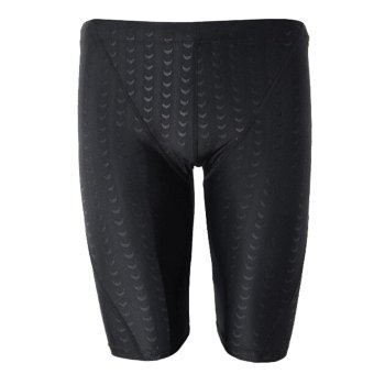 Men Boy Square Leg Style Quick Dry Tight Swimsuit Swim Swimming Shorts Trunks Breathable with Great Stretch XXXL - intl