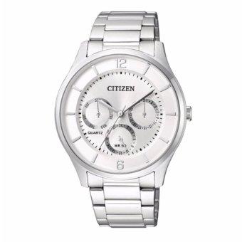 Đồng hồ nam dây kim loại Citizen AG8351-86A (Bạc)