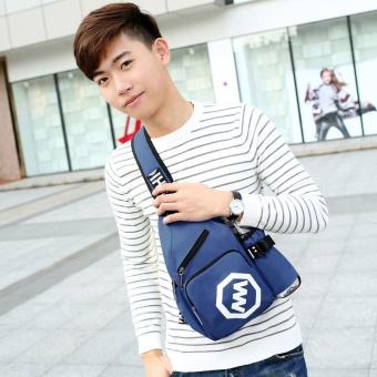 Túi đeo chéo Hàn Quốc HARAS HR127( XANH )