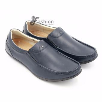 Giày Mọi Nam Da Thật GM227 (Xanh)
