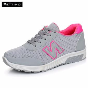Giày Thể Thao Nữ Cao Cấp - Pettino MT01 (xám)