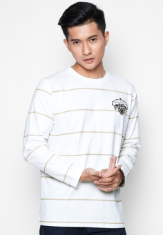 Áo phông OASIS Thái Lan MTXL457 (Trắng)
